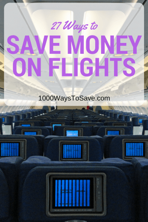 27 Ways to Save Money on Flights