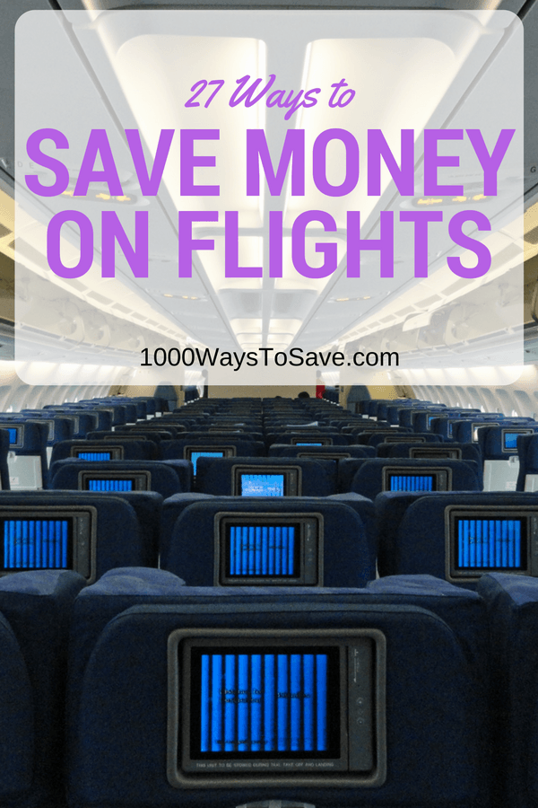 save money on flying
