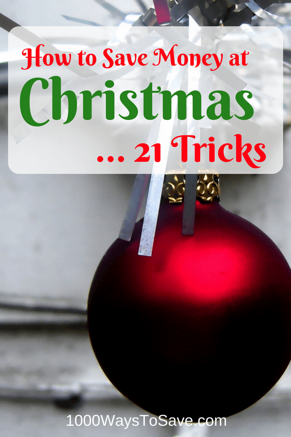 How to Save Money at Christmas - 21 Tricks
