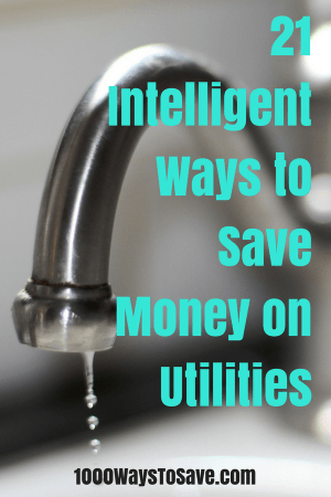 Washing your clothes in cold water, turning down the hot water heater, and reducing your garbage are a few of the 21 ways you can save money on utilities.