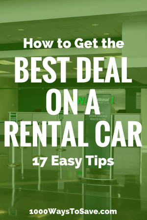 I've rented cars at several places all around the world, and found that not all service providers or prices are the same. Between the upsells and marketing tricks, there are some things to watch out for. Here are 17 need-to-know tips for how to get the best deal on a rental car. - 1000WaysToSave.com