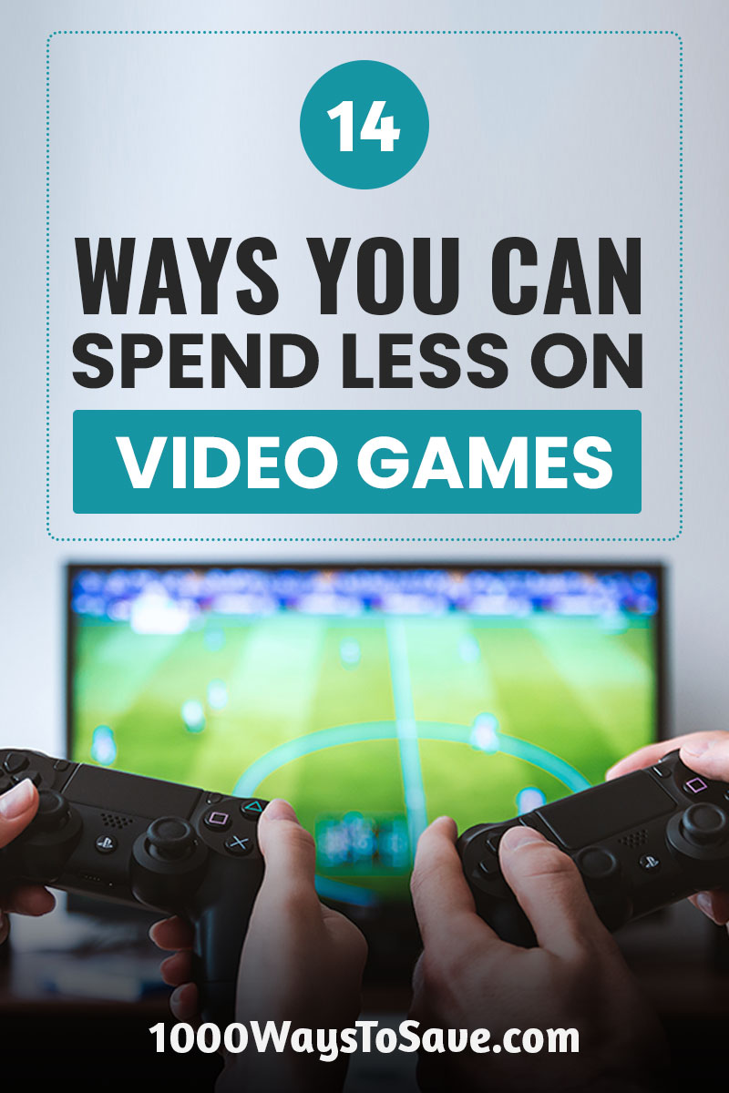 $60 for a new game? No way! Here's how to save money on video games using 14 of my favorite tricks for getting the best titles at a fraction of the price. #MoneySavingTips #1000WaysToSave